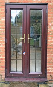 French door upgrade in Ripley